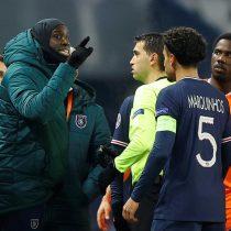 Indignación en la Champions: el Istambul se retira del partido contra el PSG por un insulto racista