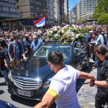 Multitudinario adiós al presidente Tabaré Vázquez en Uruguay