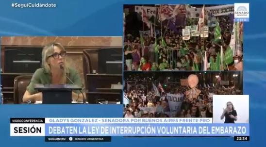 """""""El dios en el que creo es sinónimo de amor y compasión"""": senadora católica argentina realizó potente discurso en favor del aborto en medio de la aprobación de la histórica ley"""
