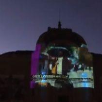 INDH conmemora el Día Internacional de los Derechos Humanos con proyección lumínica en el Museo de las Bellas Artes
