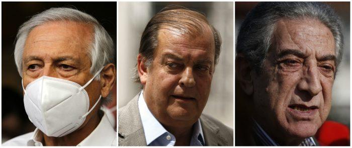 Muñoz, Vidal y Tarud inscriben sus precandidaturas presidenciales: acusan falta de liderazgo en la centroizquierda