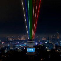 Año Nuevo: iluminarán los cielos de Santiago con un haz de luz multicolor para recibir 2021