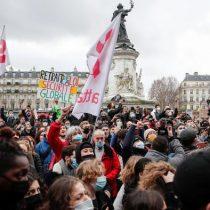 Detenidas 35 personas en las marchas contra la ley de seguridad en Francia
