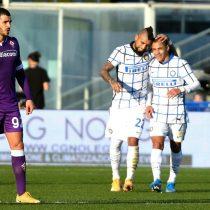 Inter clasificó a los cuartos de la Copa de Italia con aporte goleador de Arturo Vidal