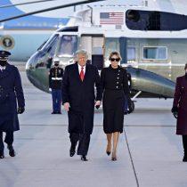 """La promesa de Trump al dejar la Casa Blanca: """"Estaremos de regreso de alguna forma"""""""