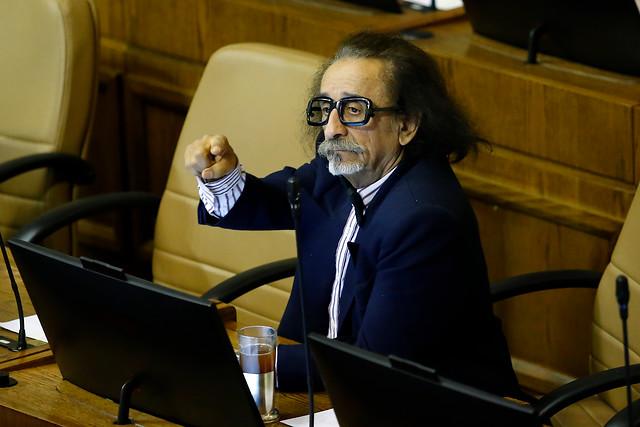 Diputado Alarcón renuncia al Partido Humanista tras denuncia de abuso sexual en su contra