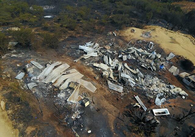 Incendio en Quilpué consume 2.630 hectáreas y 7 viviendas