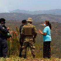 Evacuados por el incendio de Quilpué podrán volver a sus hogares según informó el Intendente de Valparaíspo