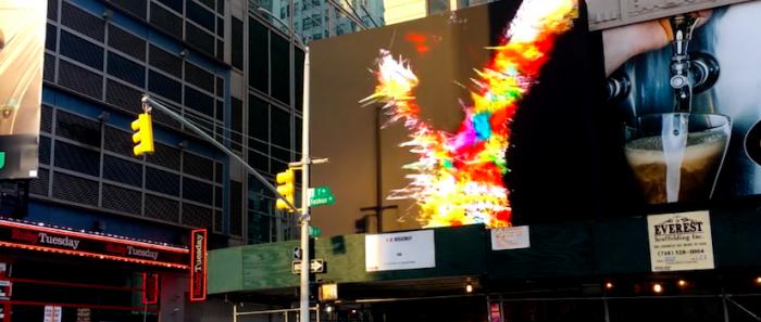 Artista chileno es seleccionado para exponer su arte digital en las calles de Tokio