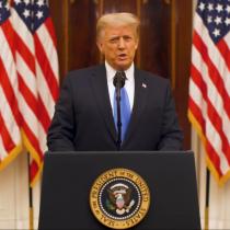 """""""El movimiento que fundamos está apenas comenzando"""": el último discurso de Donald Trump como Presidente de EE.UU"""