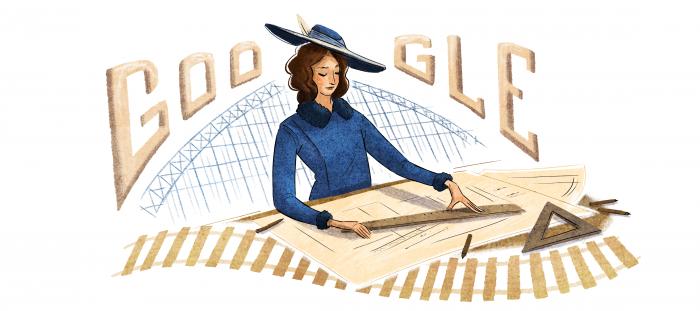 Justicia Espada Acuña: la primera ingeniera civil de Chile es homenajeada hoy con el Doodle de Google