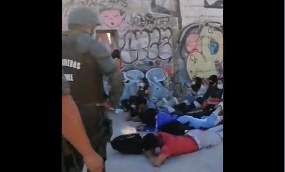 Fiesta clandestina en Quilpué terminó con 23 detenidos quienes en su mayoría eran menores de edad