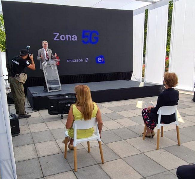 "Inauguran primera ""Zona 5G"" de Latinoamérica"