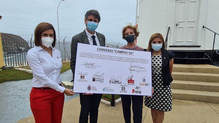 Anuncian creación de polo de desarrollo tecnológico 5G en Valparaíso