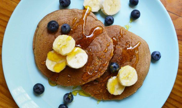 Innovadores pancakes elaborados con residuos de manzana llegan al mercado