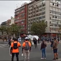 Manifestaciones en Plaza Italia: protestas en el aniversario de la muerte del hincha de Colo Colo, Jorge Mora