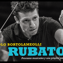 """Paolo Bortolameolli en Cita de libros: """"Rubato es una invitación es dejar los prejuicios para disfrutar la música clásica desde su mensaje"""""""
