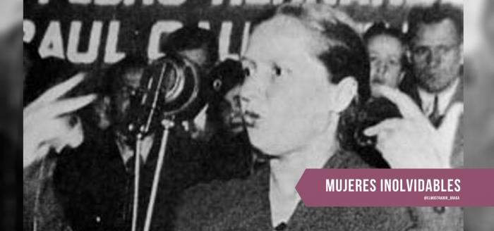Elena Caffarena: la abogada precursora del voto femenino, la movilización estudiantil de mujeres y un feminismo multiclasista