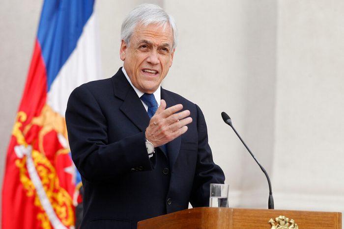 """Piñera esgrime la """"ciencia"""" frente al escepticismo en el cambio climático"""