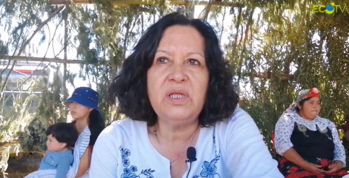 Madre de subinspector muerto de la PDI se reunió con familia Catrillanca:
