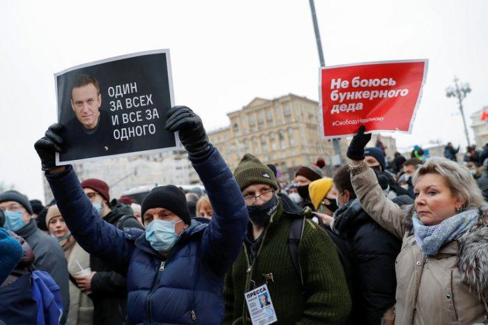 Equipo de Navalny convoca a manifestaciones en toda Rusia el domingo