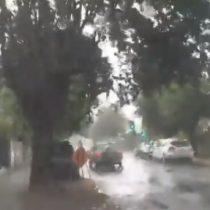 Extraño fenómeno climático: tormenta eléctrica con 33 grados sorprendió a los habitantes de Ñuble
