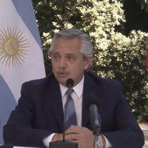 """No hay tal plan Venezuela: Alberto Fernández desmiente a Allamand y sostiene que """"no abordamos ese tema"""" con Piñera"""