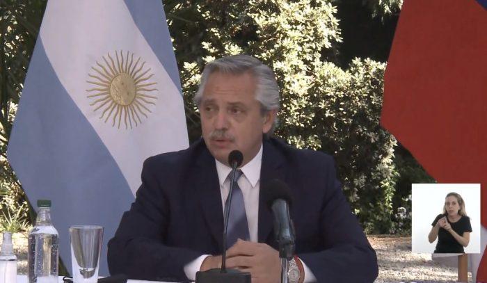 """No hay tal plan Venezuela: Alberto Fernández sostiene que """"no abordamos ese tema"""" con Piñera"""