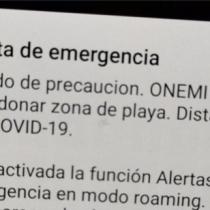A mantener la calma: Onemi informa que este lunes enviará mensaje de prueba del SAE en Alto Hospicio y la Antártica