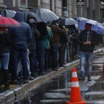 Se viene la lluvia: Onemi llama a no concurrir a zonas cordilleranas y precordilleranas ante sistema frontal