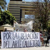 """Artistas lanzaron campaña """"Por la liberación del Arte Callejero"""" frente a proyecto de ley que intenta regularizar la actividad"""