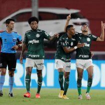 Palmeiras de Kuscevic goleó al River de Paulo Díaz en Argentina y está a un paso de la final de la Copa Libertadores