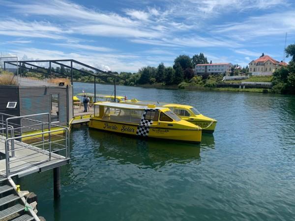 Lanzan el primer servicio de transporte público fluvial sustentable del país
