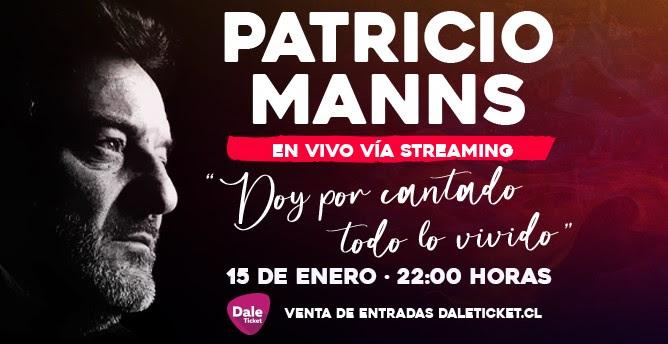 Patricio Manns en concierto online