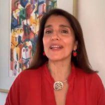 """Paula Narváez en su proclamación por el PS: """"Asumo con honor y fuerza de mujer la responsabilidad de ser candidata a la Presidencia de la República"""""""