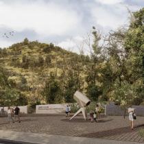 La propuesta ganadora para la construcción del Parque Observatorio Cerro Calán