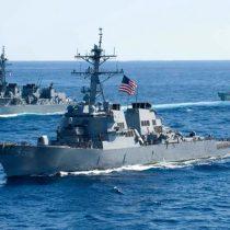 China ordena a barco de guerra de EE.UU. salir de aguas en disputa