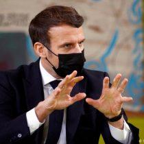 Macron pide que EE. UU. y Europa donen 5% de sus vacunas a países en desarrollo