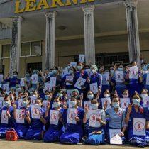 Cientos de manifestantes protestan en Rangún contra golpe de Estado en Birmania