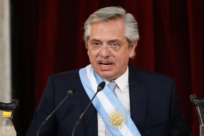Alberto Fernández criticó el