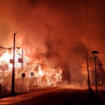 Panguipulli en llamas: incendian Municipalidad, comisaría y oficinas públicas en protestas por asesinato de joven malabarista Francisco Martínez