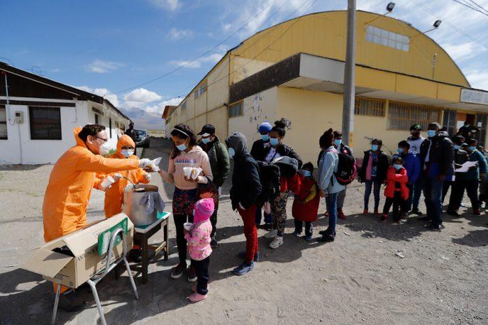 El norte y sus fronteras: una desértica bienvenida para la niñez refugiada y migrante en Chile