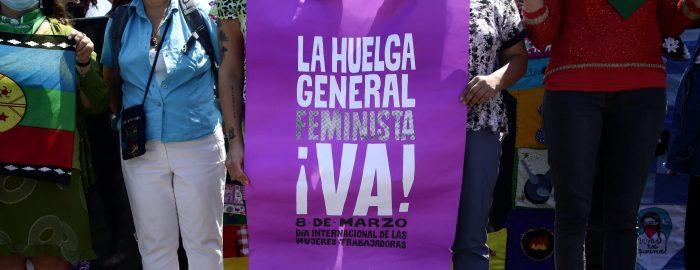 """Organizaciones sociales convocan a Huelga Feminista por el 8M: """"Si no podemos estar en las calles, estaremos en todos los caminos de lucha por nuestras vidas"""""""