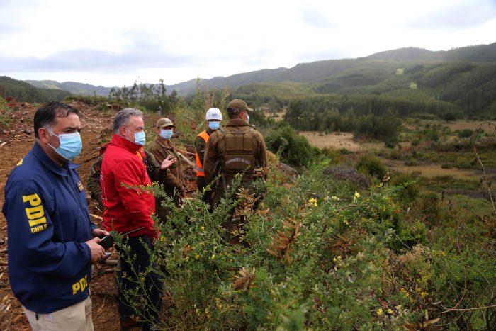 Continúa la incesante búsqueda de menor desaparecido en Arauco