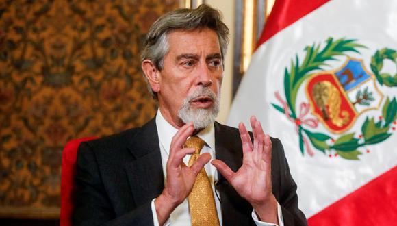 Presidente de Perú agradece a Chile por provisión de oxígeno