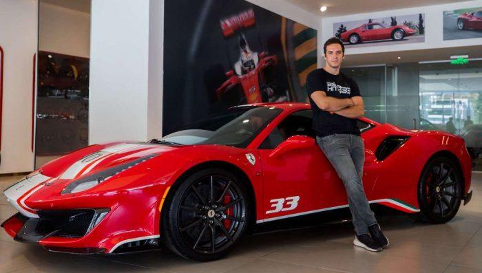 Benjamín Hites escoge escudería para el GT World Challenge de Europa 2021