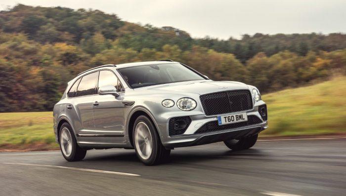 Bentley Bentayga V8 es elegido SUV de Lujo del Año