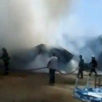 Avioneta cayó sobre casa en Curacaví dejando al piloto de la nave como el único herido del accidente