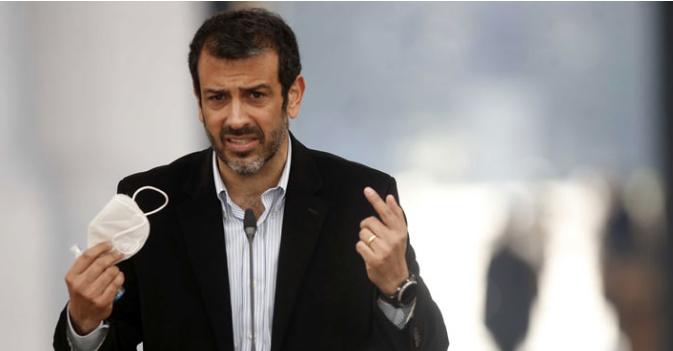 """Tomás Duval y el desempeño de un """"incendiado"""" Rodrigo Delgado en Interior: """"No tiene las características de un jefe de gobierno"""""""
