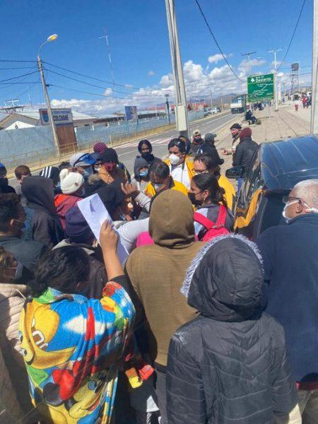 """Desde Colchane, director del INDH llamó a autoridades a """"hacer el mayor esfuerzo"""" para enfrentar la crisis migratoria"""